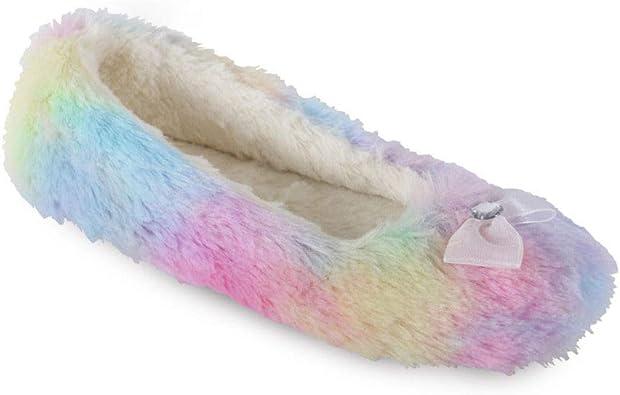 "Ladies /""Rainbow/"" Ballet Slippers"