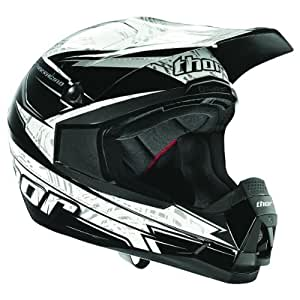 Amazon.com: 2014 Thor Quadrant Stripe Motocross Helmets ...