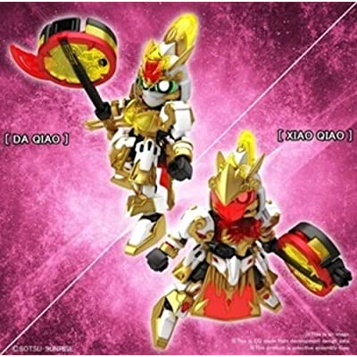 SD Gundam Sangoku Soketsuden #31 Gundam Artemie/Xiao Qiao Gn Archer,Bandai Spirits SD Gundam: Toys & Games