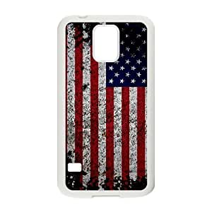 lintao diy SamSung Galaxy S5 i9600 Case Of American Retro Flag Customized Case