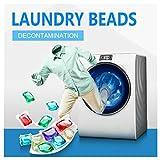 Oksale Liquid Laundry Detergent Pacs,Concentrated Laundry Liquid Pods, Deep Clean Laundry Gel Bead Capsules for Fresh Clean Clothing, Fragrance Laundry Detergent Pacs (Multicolor, 20pcs)