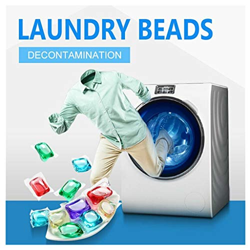 Oksale Liquid Laundry Detergent Pacs,Concentrated Laundry Liquid Pods, Deep Clean Laundry Gel Bead Capsules for Fresh Clean Clothing, Fragrance Laundry Detergent Pacs (Multicolor, 20pcs)