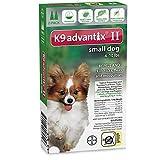 K9 Advantix II Small Dogs (4 - 10 lbs, 2 Month Supply)