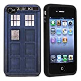 TARDIS Police Call Box Case / Cover For iPhone 4 or 4s by Atomic Market
