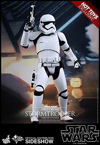 Hot Toys Star Wars VII VII VII First Order Stormtrooper Squad Leader Figurine, 4897011178073, Blanc, 30.00 f63b72
