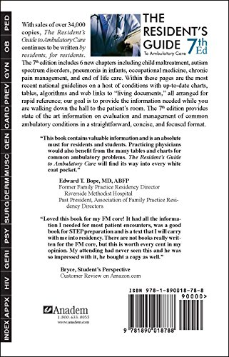 Resident's Guide to Ambulatory Care, 7th ed. - http://medicalbooks.filipinodoctors.org