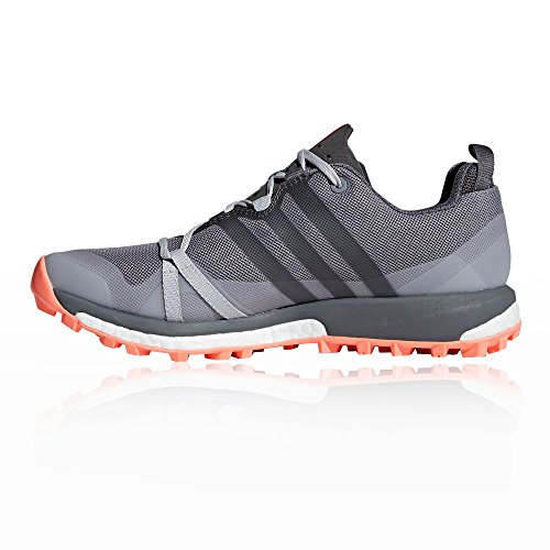 5 Terrex Women's Running 6 W Grefou Grethr Shoes Grey White Trail Grethr Grefou Chacor Chacor UK adidas Agravic nBHwXdxzB