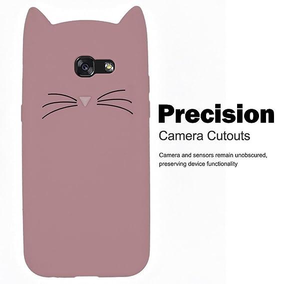 For A710 Protective Silicone Case, SevenPanda Cover for Samsung Galaxy A7 2016 TPU Silicone Black