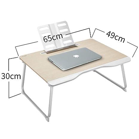 Amazon.com: Mesa de cama para ordenador portátil, mesa ...
