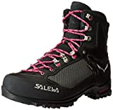 Salewa Raven 2 GTX Mountaineering Boot, Black/Pinky, 11 M US