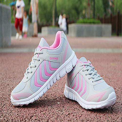 Portable De Casual Chaussures Respirant Sport New Qhj Rose Course Couple Lger Pour Modles Mesh Fashion Femmes wHq7OFxHR