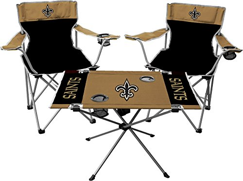 Nfl Tailgate Table - Rawlings NFL New Orleans Saints Tailgate Kit, Team Color, One Size
