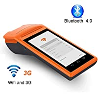 Android POS Terminal 3G MUNBYN with Printer Charger Cradle and Camera to read 1D/QR code Loyverse Software Compatible