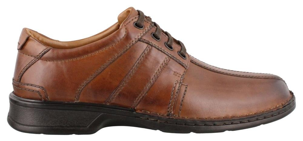 CLARKS Men's, Touareg Vibe Lace up Shoe Brown 9 M