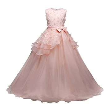 da1f439a92 Cyhulu 3-9Years Kids Girls Princess Dress Clothes