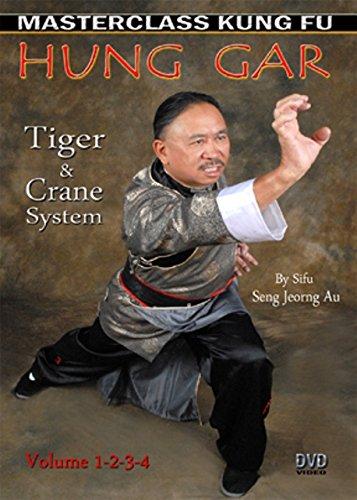 4 DVD SET Hung Gar Tiger Crane Kung Fu System volume 1,2,3,4 Sifu Seng Jeorng Au