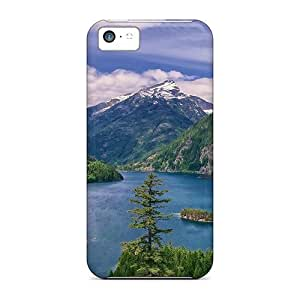 Fashionable Style Cases Covers Skin For Iphone 5c- Gorgeous River View