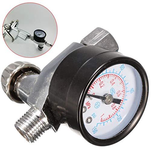 Yongse 1/4 Inch Air Spray Gun Pressure Gauge Air Regulator
