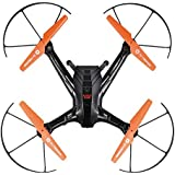 Skydrones Eagle Eye 4.0 RC Drone - Live Streaming HD Camera Quadcopter Kit in Aluminum Carrying Case with Auto Hover, Takeoff, and Landing