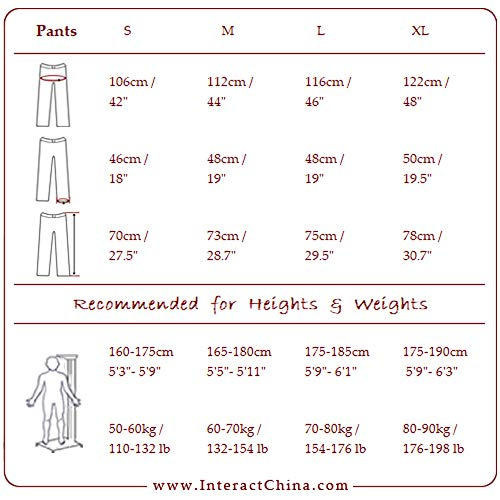 Interact Hippie 105 Versatili Comodi Beige Lino China Stile Uomo 100 Cotone Bermuda Chiaro Pantaloni Artigianale TrTqpzf1wx