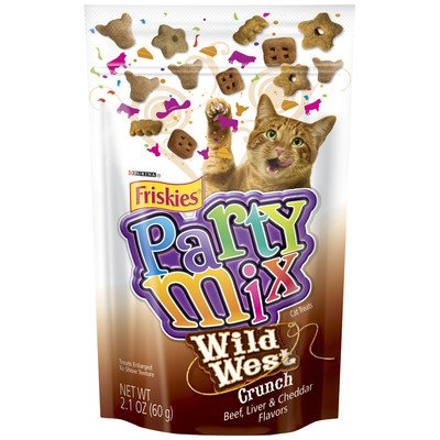 Friskies Party Mix Cat Treat Wild West