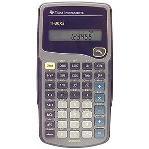 Texas Instruments Ti-30Xa Scientific Calculator, 10-Digit Lcd, Case of 2