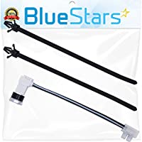 W10258275 Dishwasher Bimetal Thermal Fuse by Blue Stars - Exact Fit for Whirlpool & Kenmore dishwasher - Simple Instruction Included - Replaces 661663 PS2360984 AP4423189