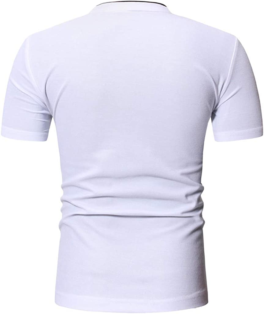 waotier Camiseta De Manga Corta para Hombre Camiseta Casual ...