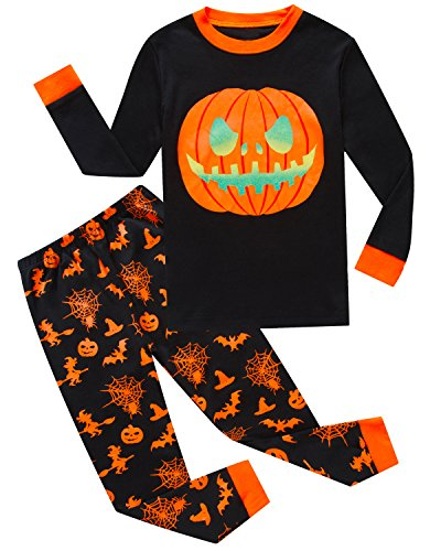 IF Pajamas Halloween Pumpkin Little Boys Pajamas Sets Toddlers Pjs Clothes