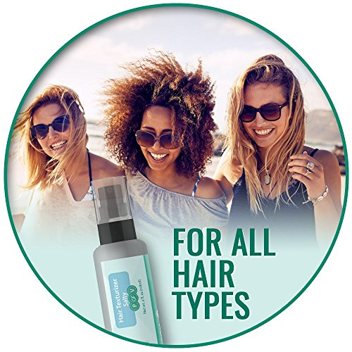 - Infused Magnesium-rich Dead Sea Salt, Organic Paraben Free Salty Hair Texturizing Spray Adds Volume, Texture, And Definition - Beautiful