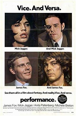 Amazon.com: Performance POSTER Movie (27 x 40 Inches - 69cm x 102cm) (1970):  Posters & Prints