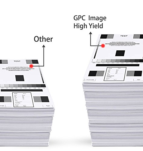 GPC Image PG-210XL Remanufactured Ink Cartridge (InkLevel Chip) Replacement for PG210 XL 210XL PG 210 XL for PIXMA iP2702 MP495 MP240 MX410 MP280 MP480 MX360 MX420 Printer High Yield (2 Black) Photo #3