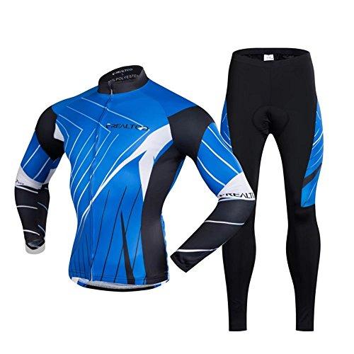 頭蓋骨頂点拍手サイクリングウェア メンズ 夏用 長袖 ストレッチ 通気 吸汗速乾 抗菌 防臭