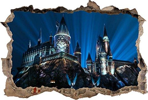 Hogwarts Castle Harry Potter Smashed Wall Sticker Decal Home Decor Art J280, Mini
