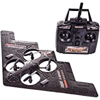 AMG Stealth Spyhawk RTF RC Drone Airplane with Quad Engine RC Spy Quadcopter 4Channel - AIRFORCE