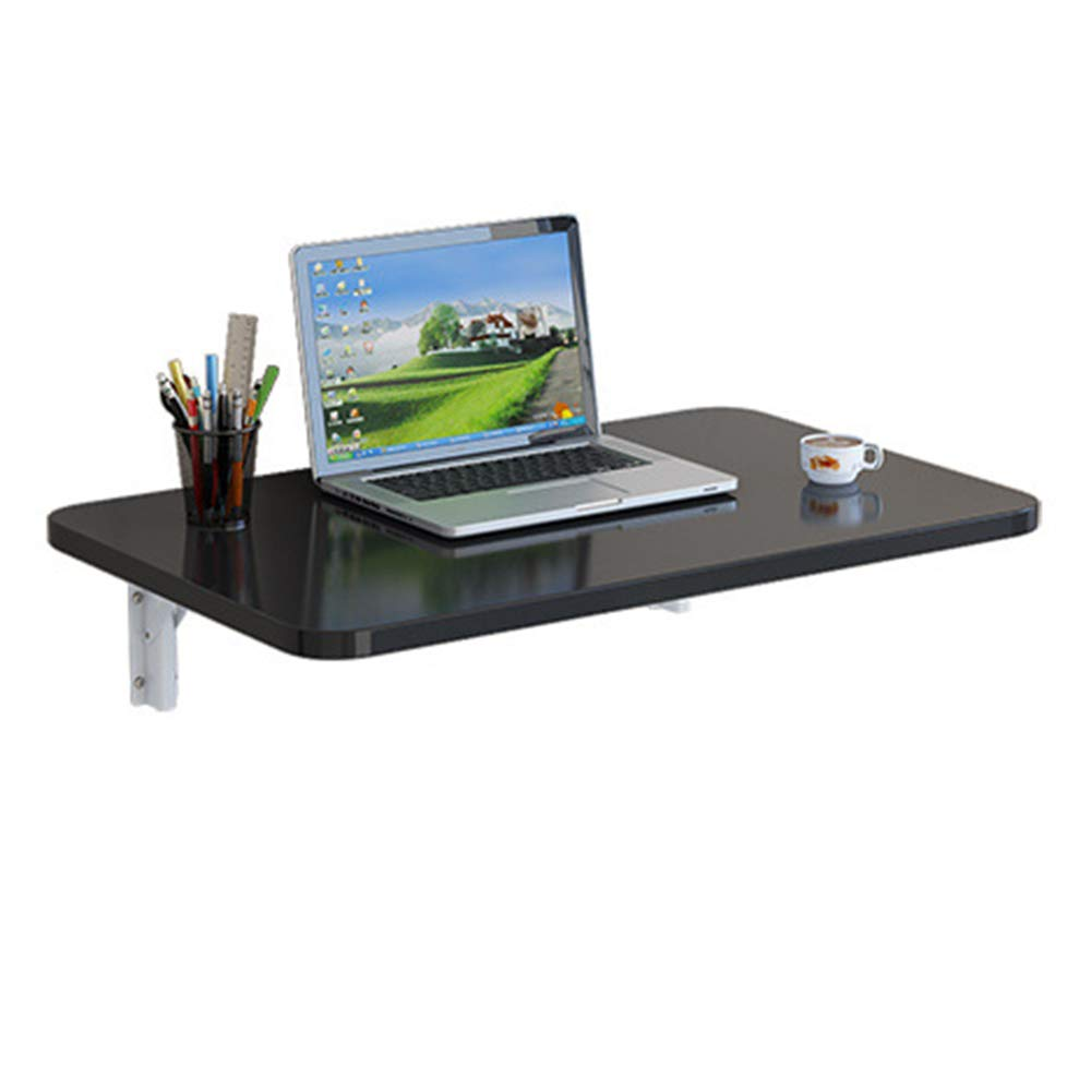 Size : 9040cm Wall-Mounted Computer Desk KXBYMXSimple Folding Table Folding Dining Table Multi-Functional Wall Table,