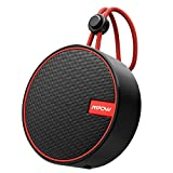 Mpow Q2 Shower Speaker V5.0, Outdoor Speaker IPX7 Waterproof Bluetooth Speaker, 10W Portable Speaker with Enhanced Bass, 18H Playtime, Travel Speaker Support TF Card for Sports, Pool, Beach, Camping