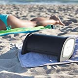 NYNE Multimedia Inc Bass Portable Bluetooth Speaker (Black/Silver)