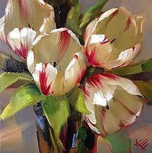 Samexpress Flowers Solid Wood Portrait 70x90 cm Wall Hang Art - 2724779447887
