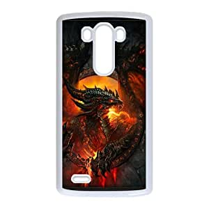 Beautiful Designed With World of Warcraft Theme Phone Shell For LG G3