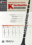 Grifftabelle für Klarinette Deutsches System [Fingering Charts for Clarinet -- Oehler System]: German / English Language Edition, Chart (Alfred's Fingering Charts Instrumental)