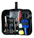 Watch Repair Kit,Tool Kit, Professional Watches Tool Set Spring Bar Tool Set Watch Band Link Pin Tool Set with Carrying Case