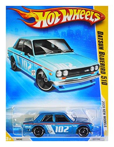 Hot Wheels 2009 New Models Datsun Bluebird 510 w/ Black - Model 510 Datsun