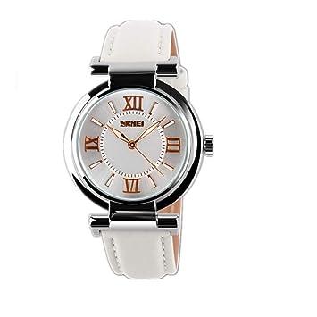 ChengHui Reloj Manos Impermeable Reloj Mujer Moda Tendencia Personalidad Casual Retro Ver: Amazon.es: Jardín