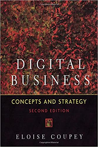 Book Digital Business: Concepts and Strategies, 2nd Edition