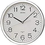 Seiko Analog Wall Clock, Plastic - QXA020SLS