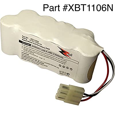 ZZcell Battery For Euro Pro Shark XBT1106N Navigator Freestyle SV116N, SV1106N (Please check part number before purchase)