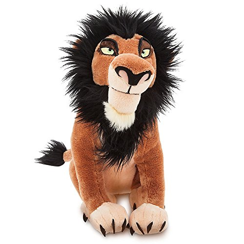 Disney Scar Plush - The Lion King - 14 Inch]()