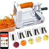 Best Spiralizers - Spiralizer 5-Blade - Best in Class Vegetable Slicer Review