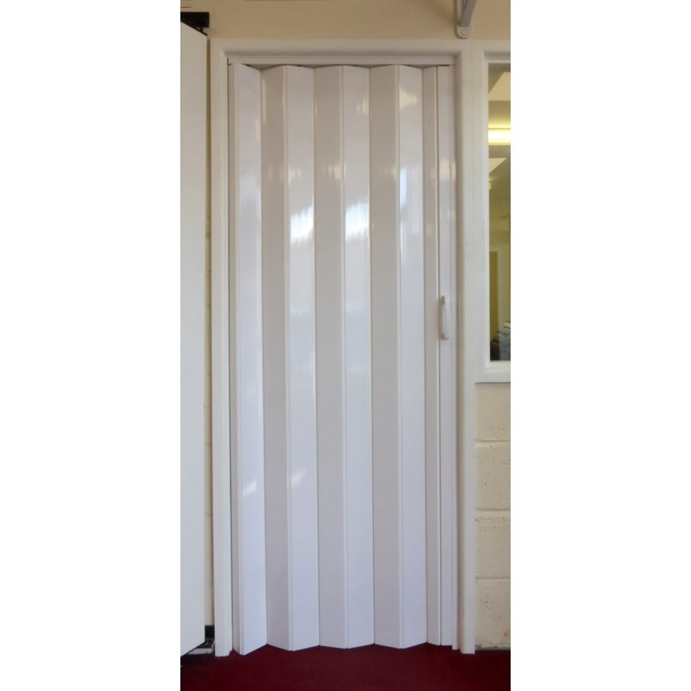 Dynasty Internal PVC Concertina Folding Door White Gloss (6mm Thick) Amazon.co.uk DIY \u0026 Tools  sc 1 st  Amazon UK & Dynasty Internal PVC Concertina Folding Door White Gloss (6mm Thick ...